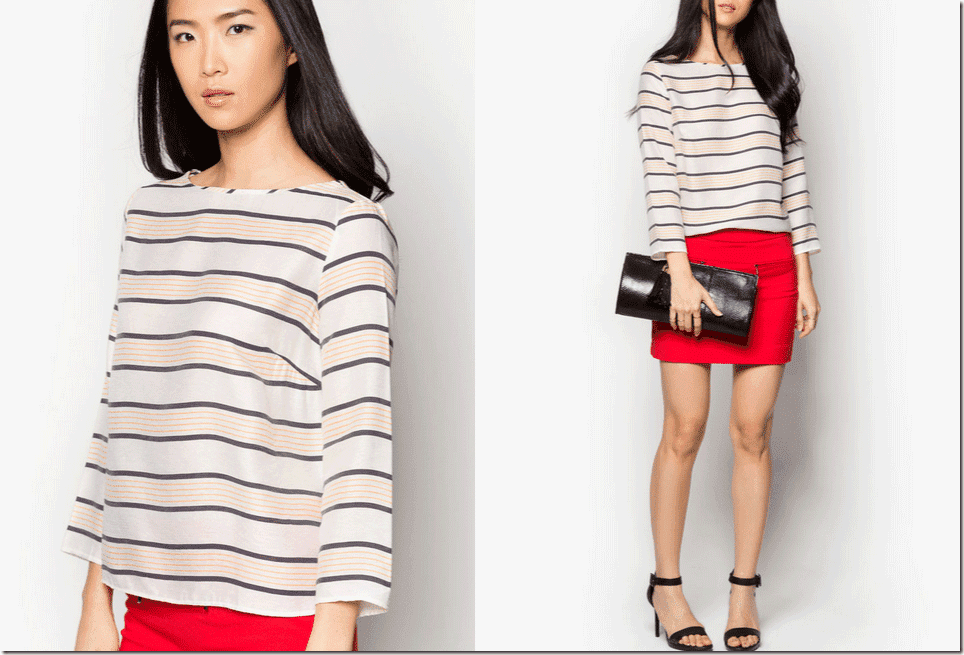 striped-bow-blouse