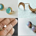 Fashionista NOW: Handmade Stud Earrings By AHoleyMoleyLyfe Review Jewelry Inspiration
