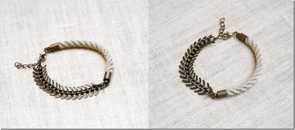 antiqued-brass-rope-fishbone-chain-bracelet