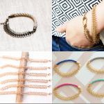 Fashionista NOW: 7 Fishbone Chain Bracelets Jewelry Fashion Inspiration