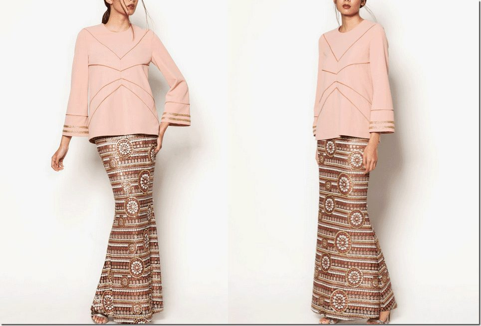 dusty-pink-art-deco-inspired-baju-kurung