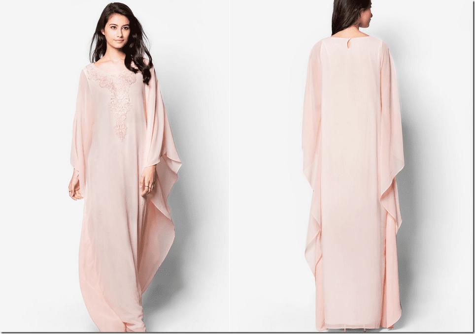 embellished-front-blush-kaftan-dress