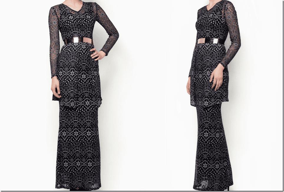 Fesyen Baju Kurung Moden 2013   Rachael Edwards
