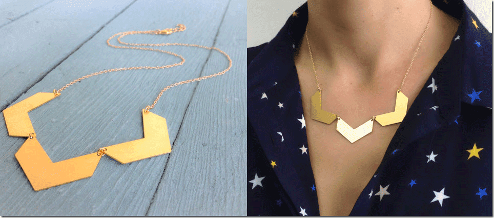 geometric-gold-three-chevron-necklace