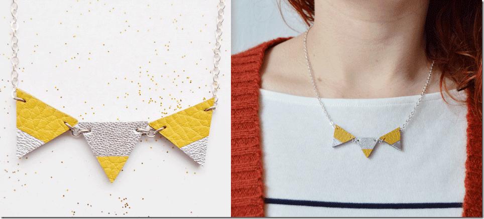 geometric-mustard-yellow-bunting-necklace