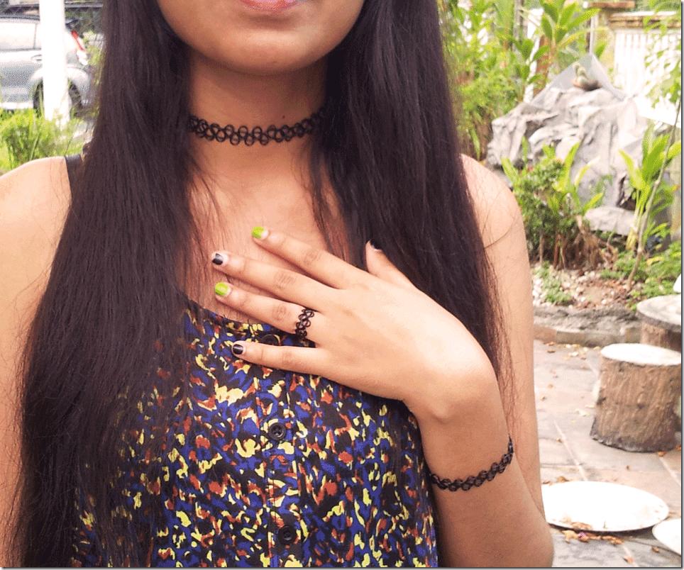 Mahuis Black Tattoo Choker Review Fashion Inspiration