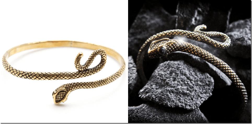 gold-snake-bracelet-black-diamond-eyes