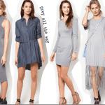 Fashionista NOW: 10 Grey Dress Styles To Wear Fashion Inspiration