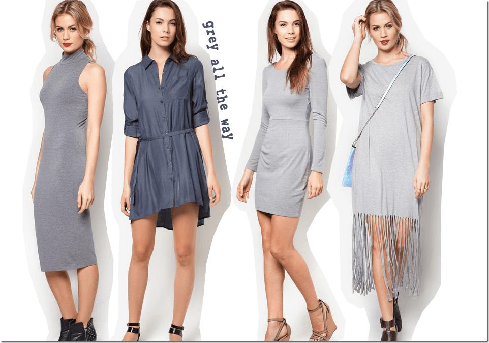 10 Grey Dress Styles To Wear Fashion Inspiration