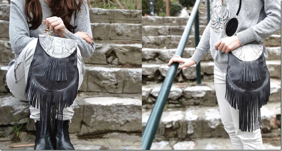 grey-leather-snake-print-fringe-crossbody-bag