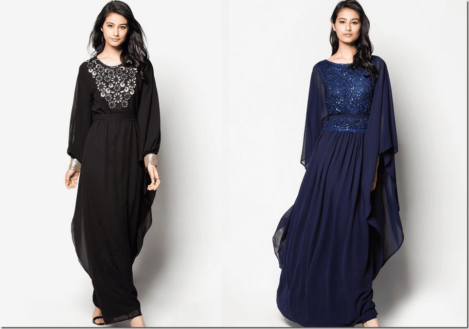 Embellished Kaftan Dresses For Eid Raya 2015 Fashion Inspiration