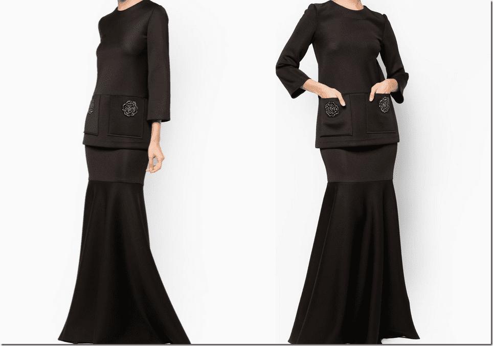 matte-black-neoprene-baju-kurung-crystal