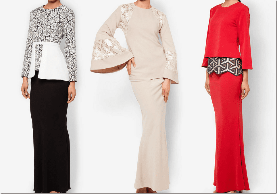 Our love for Melinda Looi's modern kurung design is as strong as our ...