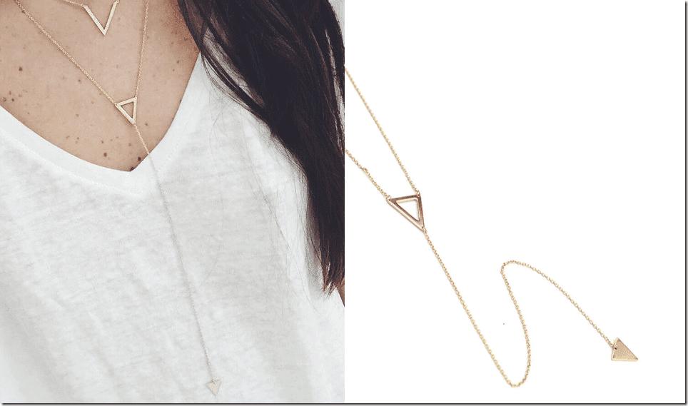 minimalist-gold-triangle-lariat-necklace