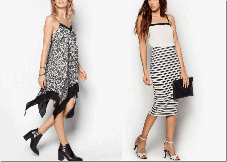 10 Black And White Printed Staple Must-Have Fashion Inspiration