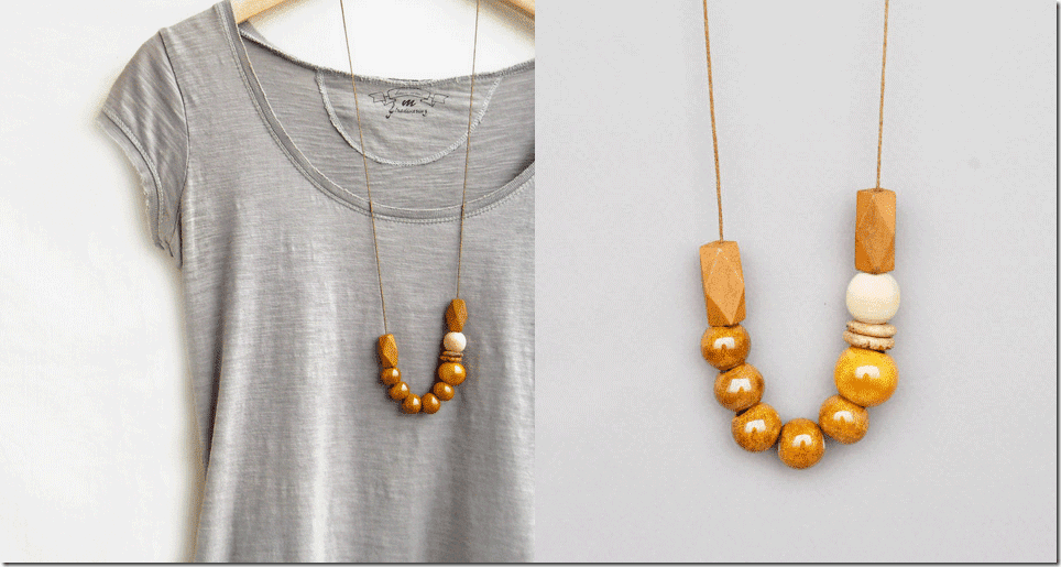 mustard-ceramic-wood-bead-necklace