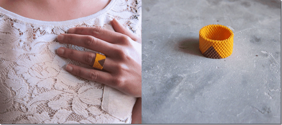 mustard-miyuki-glass-bead-ring