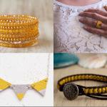 Fashionista NOW: Mustard Yellow Jewelry Fashion Inspiration