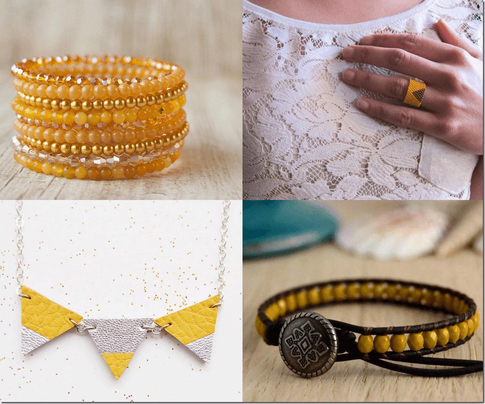 Mustard Yellow Jewelry Fashion Inspiration