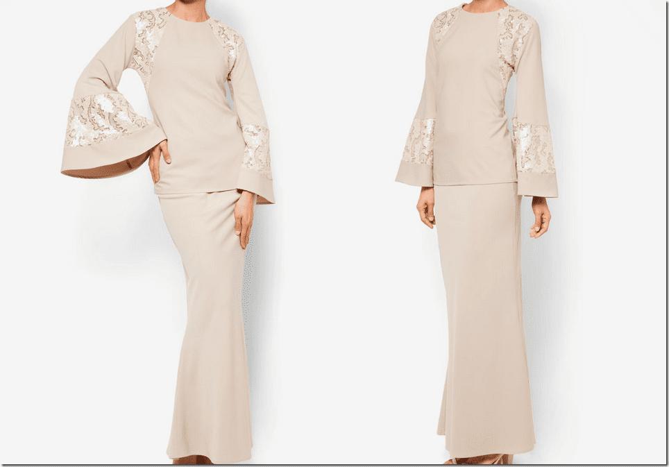 nude-sequined-baju-kurung-bell-sleeves