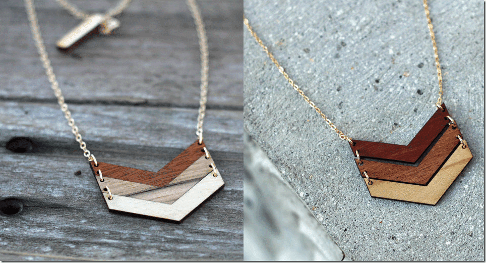 ombre-wood-chevron-necklace