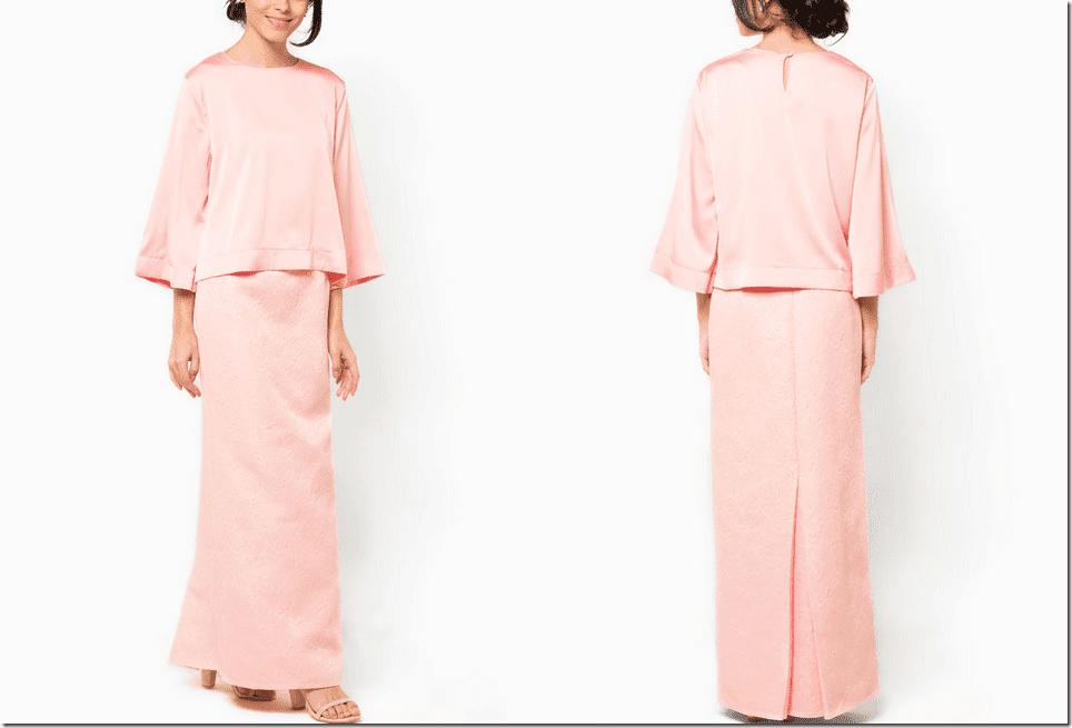 pastel-pink-jacquard-modern-baju-kurung