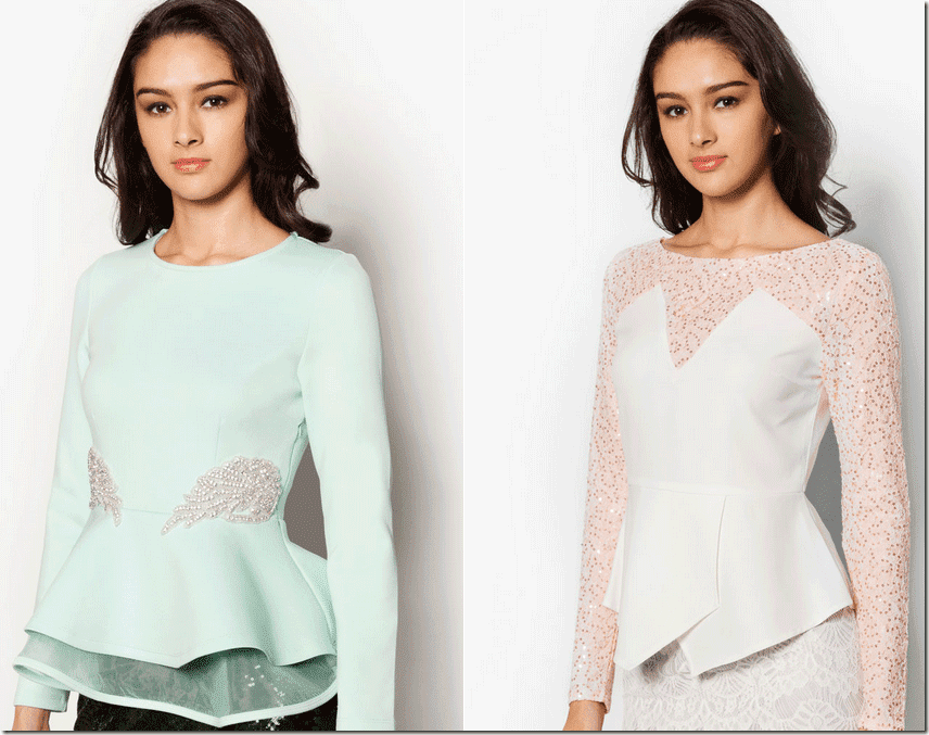 7 Peplum Top Ideas For Raya 2015 Fashion Inspiration