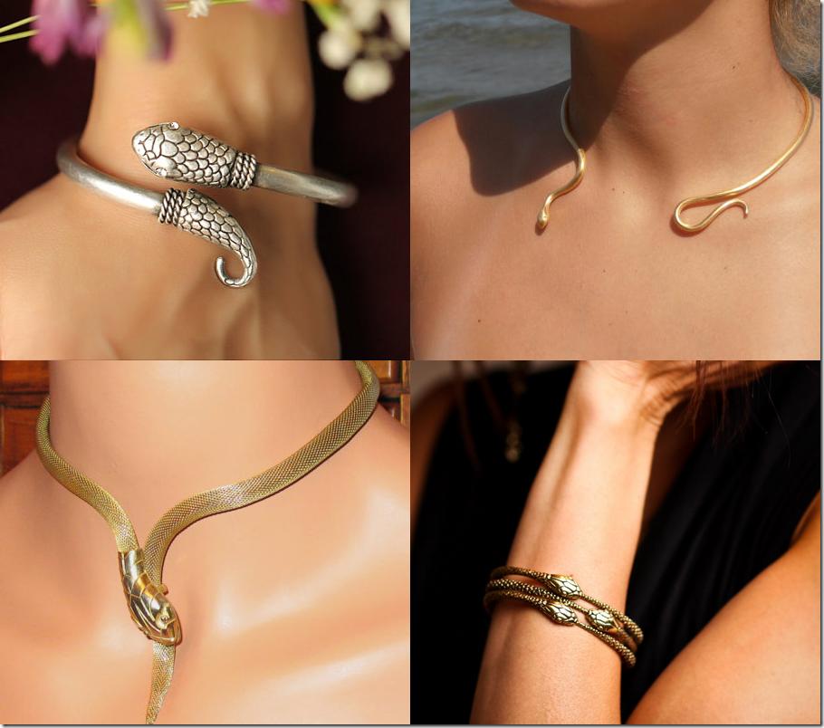 Serpentine Jewelry Fashion Inspiration