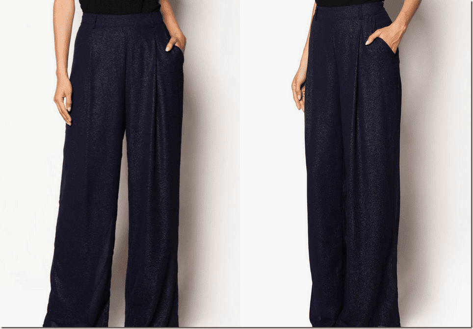 shimmery-navy-high-waisted-palazzo-pants