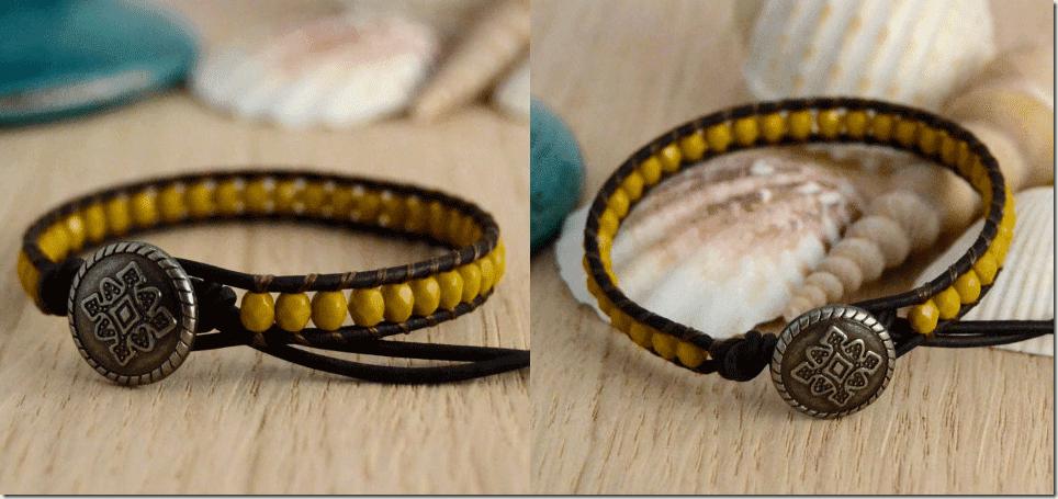 skinny-single-wrap-mustard-bead-bracelet