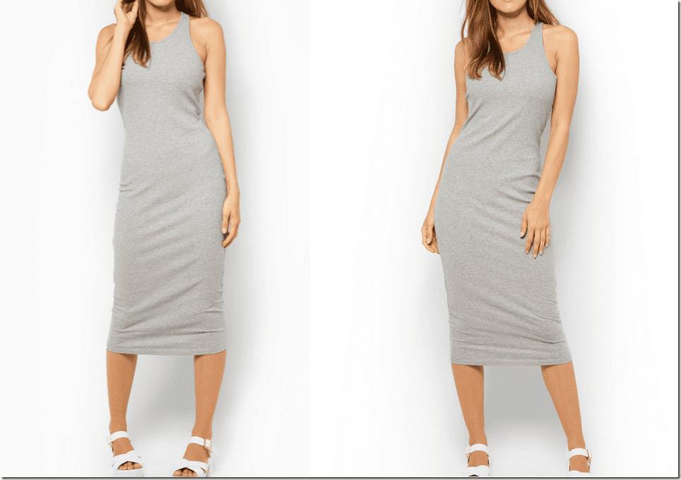 sleeveless-grey-midi-bodycon-dress