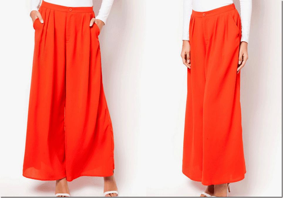 tangerine-orange-palazzo-pants