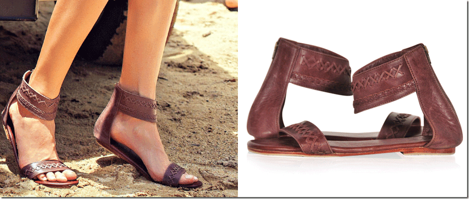 vintage-brown-boho-leather-sandals