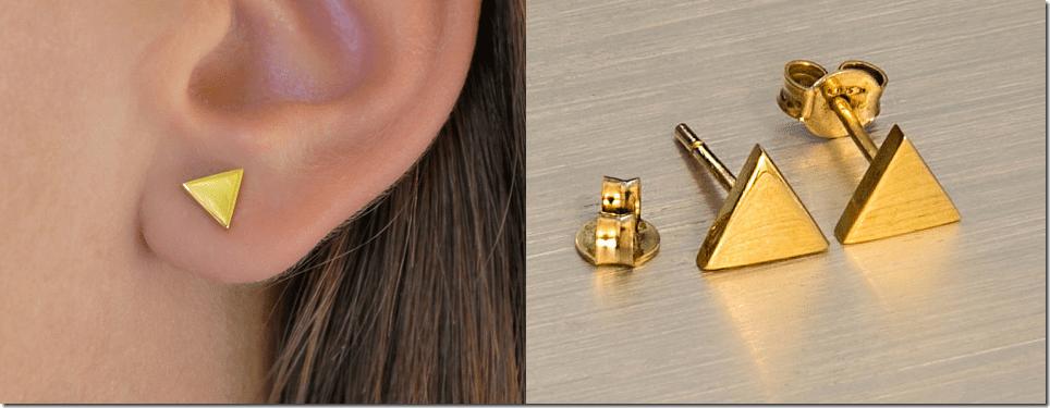 yellow-gold-geometric-triangle-stud-earrings