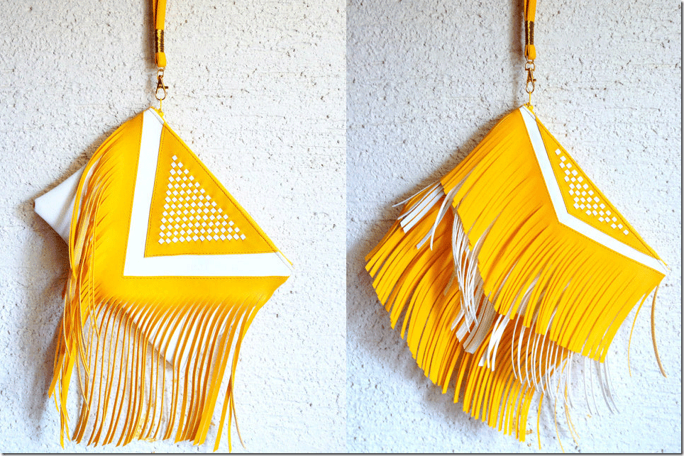 yellow-white-statement-fringe-clutch