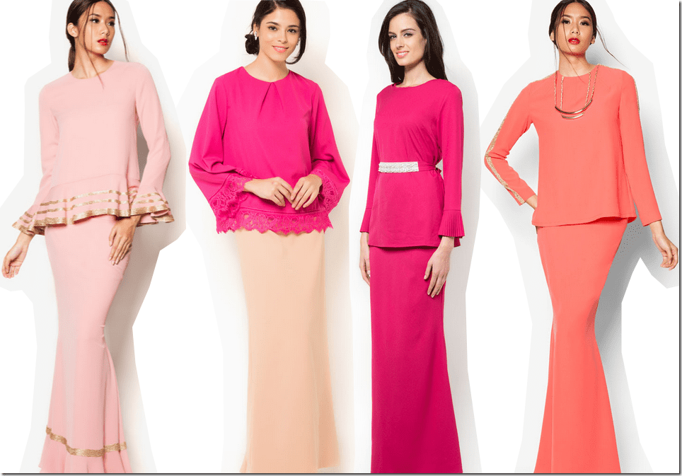 10 Shades Of Pink Outfits For Raya 2015 Fashion Inspiration
