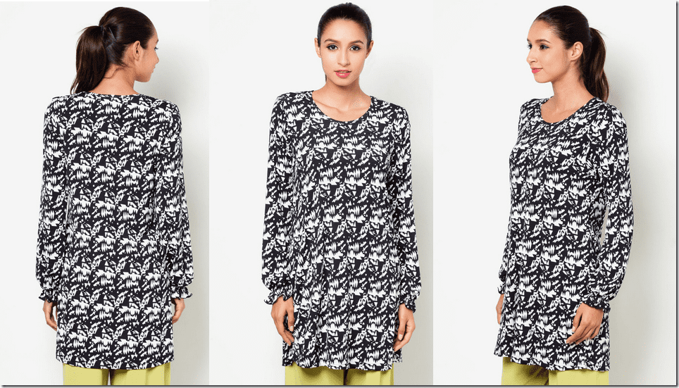 abstract-print-long-sleeve-blouse