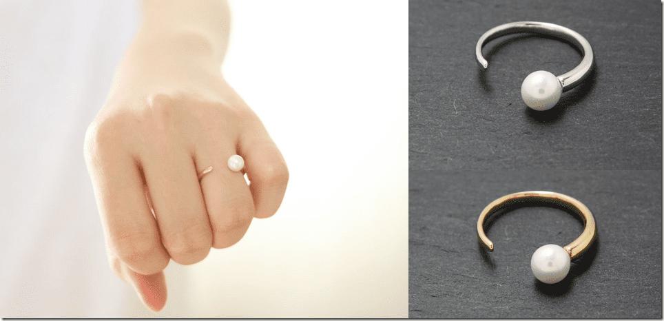 adjustable-horn-shape-pearl-ring