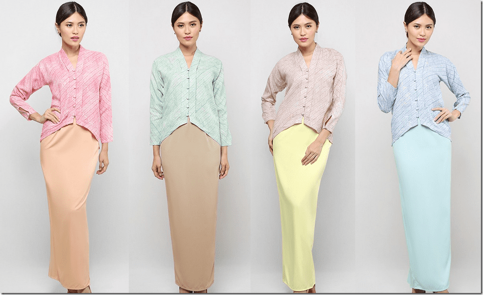 Modern Kebaya To Wear For Raya 2015