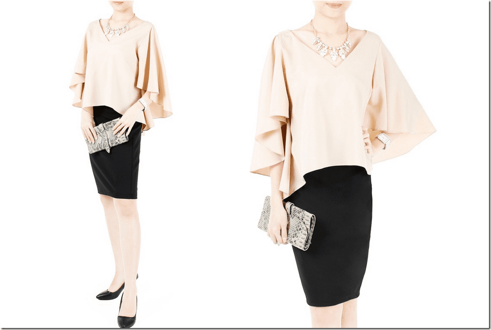 billowy-butterfly-sleeve-cream-blouse