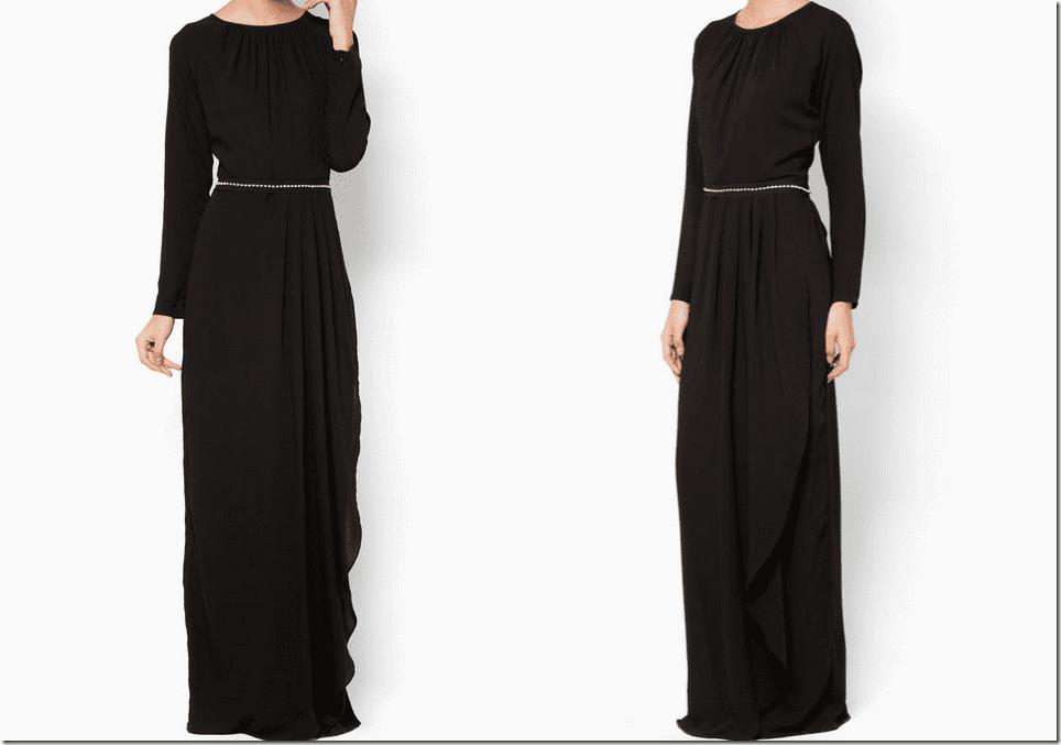 black-maxi-dress-diamante-sash