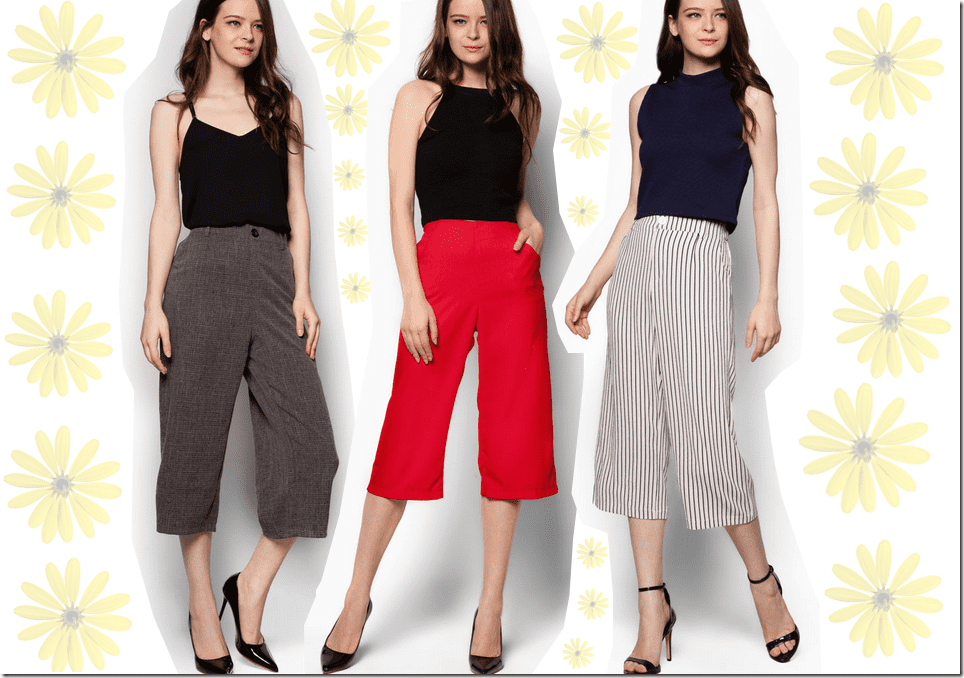 Cue The Culottes For Your Summer