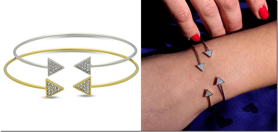 dainty-triangle-cuff-bracelet
