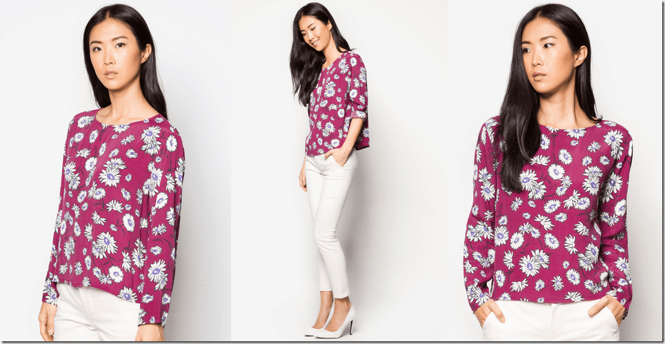 dark-red-retro-floral-blouse