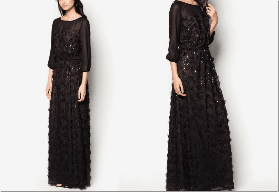 floral-applique-embellished-black-maxi-dress
