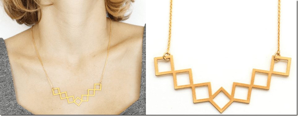 geometric-gold-rhombus-statement-necklace