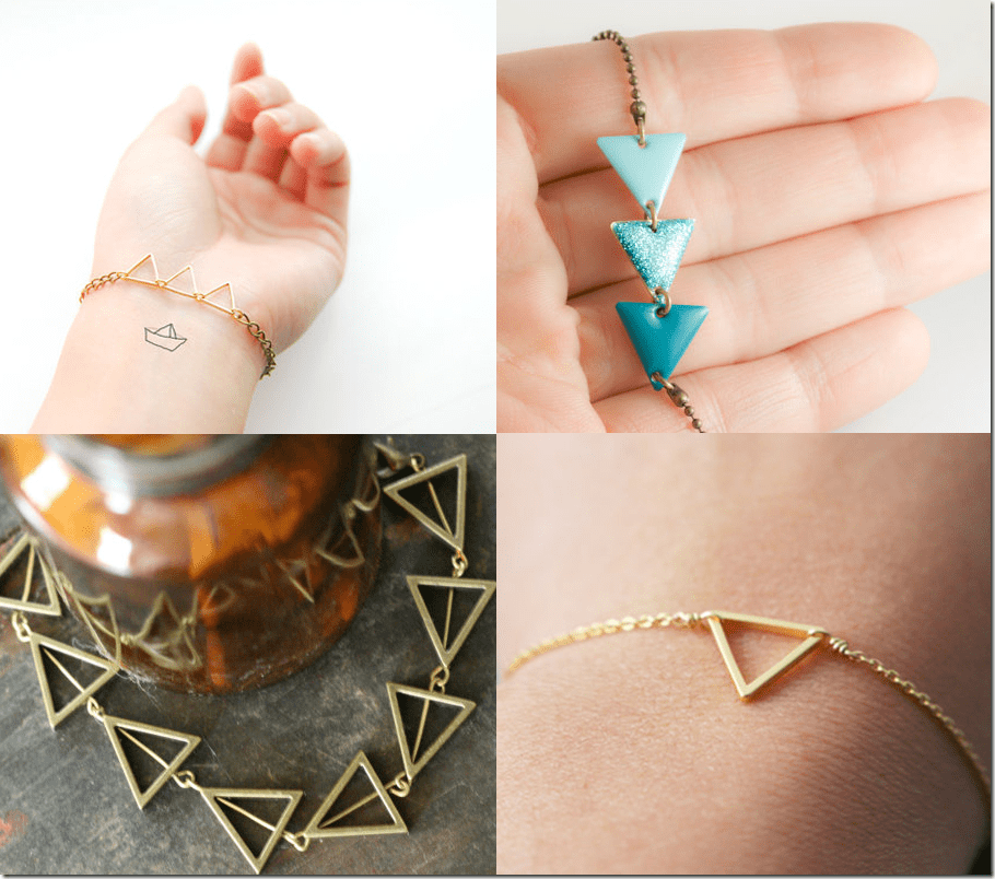 geometric-triangle-bracelets