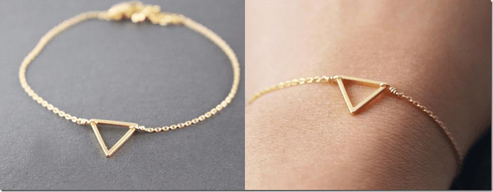 gold-tiny-triangle-bracelet