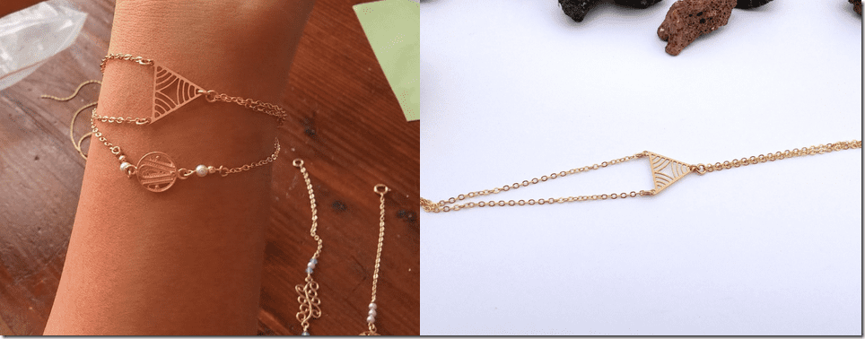 gold-two-chain-triangle-bracelet