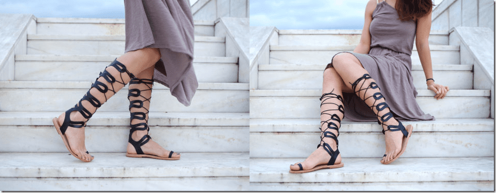 greek-leather-knee-high-gladiator-sandals